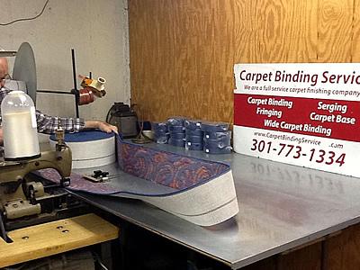 Carpet Cove Base Services At Carpet Binding Services 301 773 1334